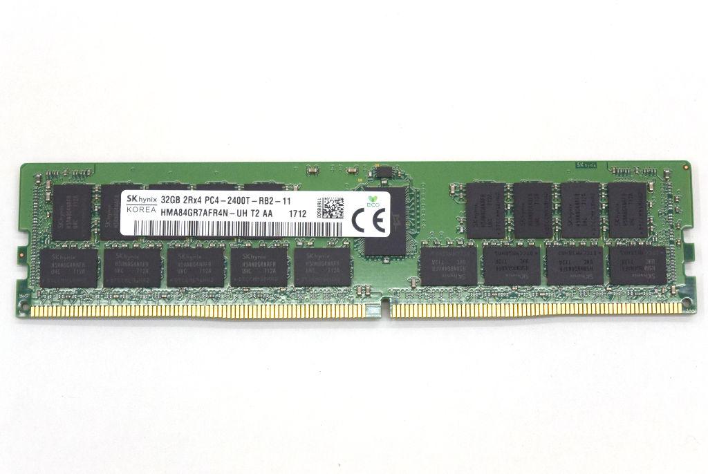 Sk hynix 32GB PC4-2400T-R DDR4 高級 Registered ECC ハイエンドワークステーション 業界No.1 サーバー 840等 20210827 hp 中古 640 Z440 2Rx4