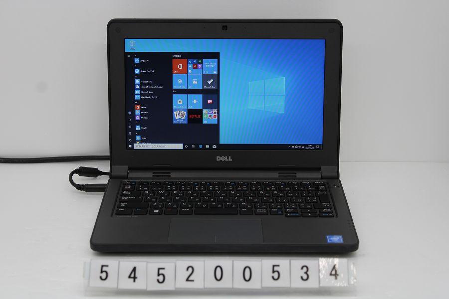 DELL Latitude 3160 Celeron N3060 1.6GHz/4GB/128GB(SSD)/11.6W/FWXGA(1366x768)/Win10【中古】【20200716】