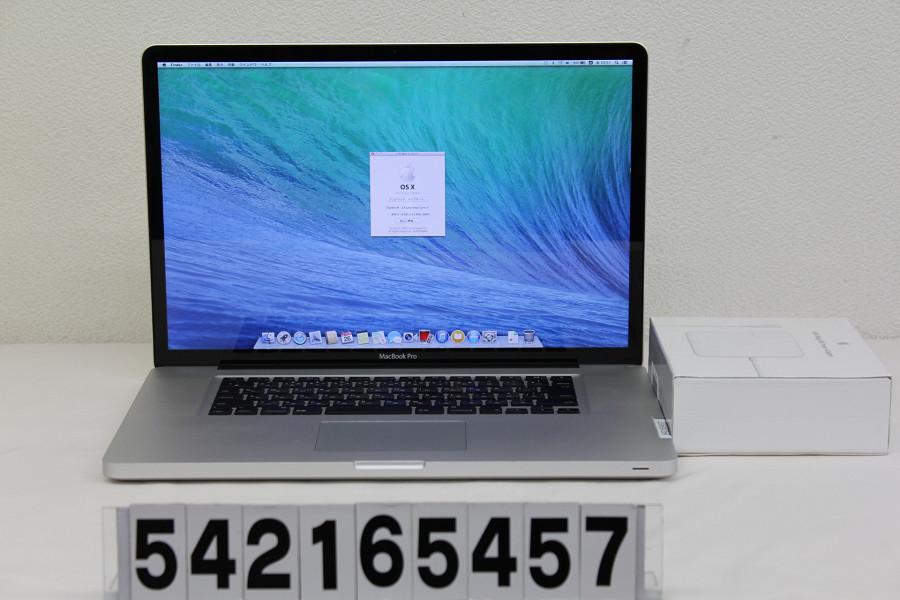 Apple MacBook Pro A1297 Core i7 2 4GHz 8GB 750GB Multi 17W2016032954qALRj3