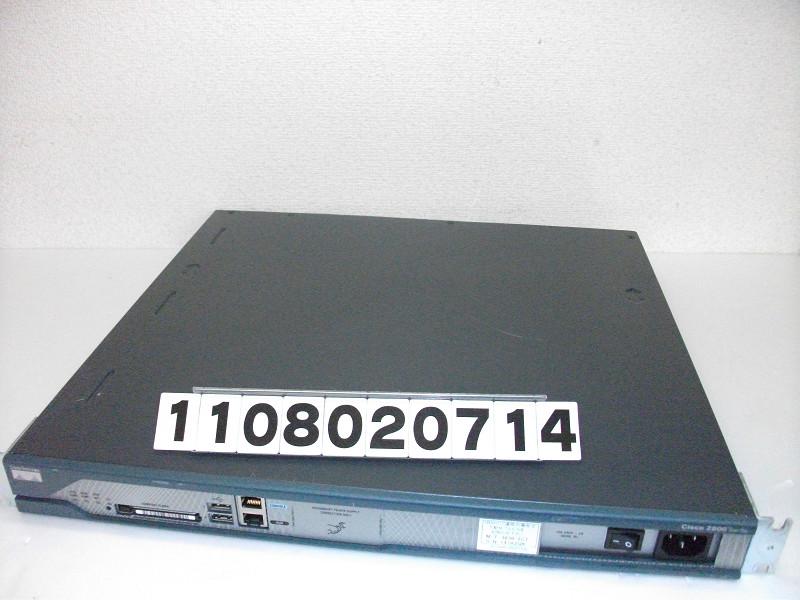 Cisco Cisco 2811 増設: NME-WAE-502-K9、HWIC-4ESW 【中古】【20160329】