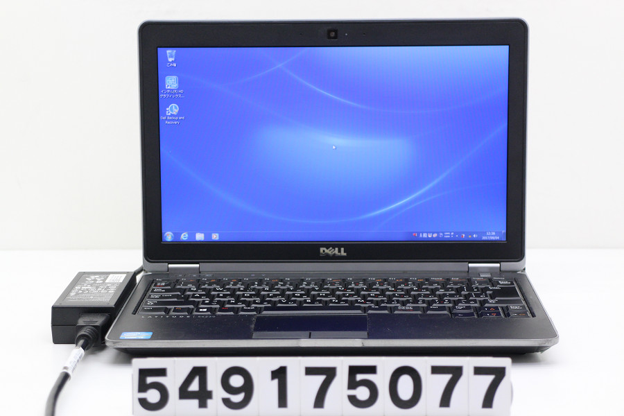DELL Latitude E6230 Core i5 3320M 2.6GHz/4GB/128GB(SSD)/12.5W/FWXGA(1366x768)/Win7【中古】【20170905】