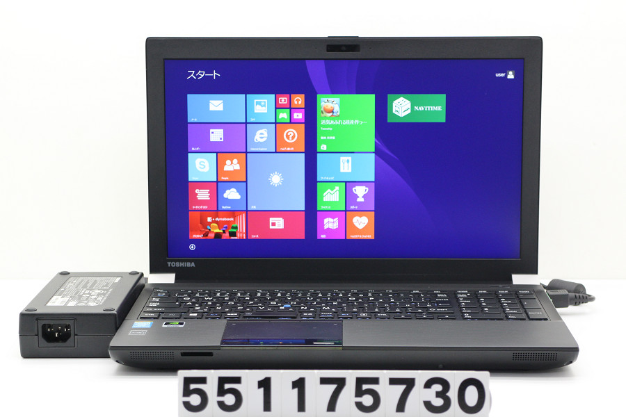 東芝 dynabook Satellite WS754/K Core i7 4800MQ 2.7GHz/16GB/500GB/Multi/15.6W/FHD(1920x1080)/Win8.1/Quadro K2100M【中古】【20171201】
