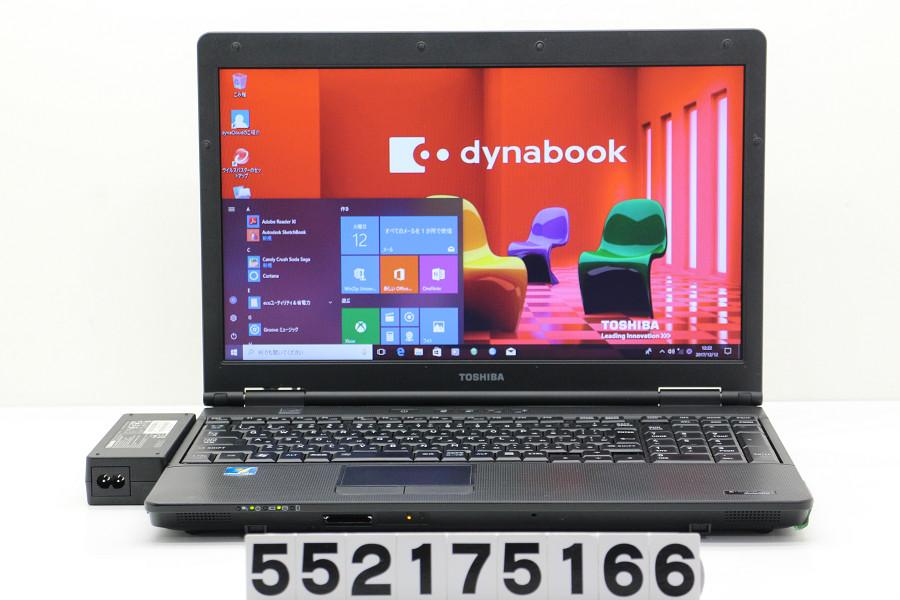 東芝 dynabook Satellite B552/F Core i5 3210M 2.5GHz/4GB/320GB/Multi/15.6W/FWXGA(1366x768)/Win10【中古】【20171213】