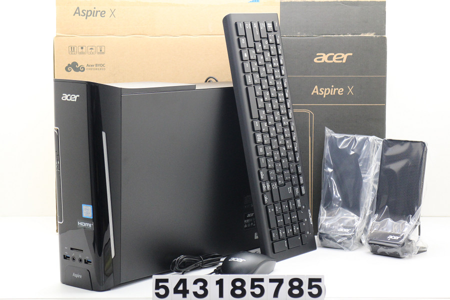 acer Aspire XC-780 Core i5 7400 3GHz/4GB/1TB/Multi/Win10【中古】【20180322】
