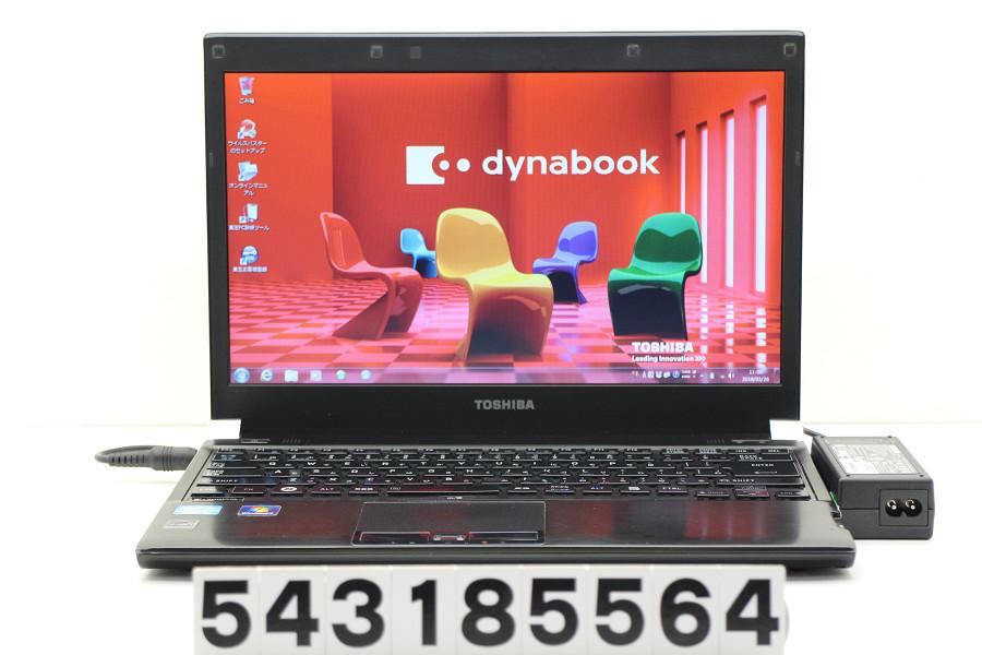 東芝 dynabook R731/B Core i5 2520M 2.5GHz/4GB/250GB/13.3W/FWXGA(1366x768)/Win7 eSATA不良【中古】【20180327】