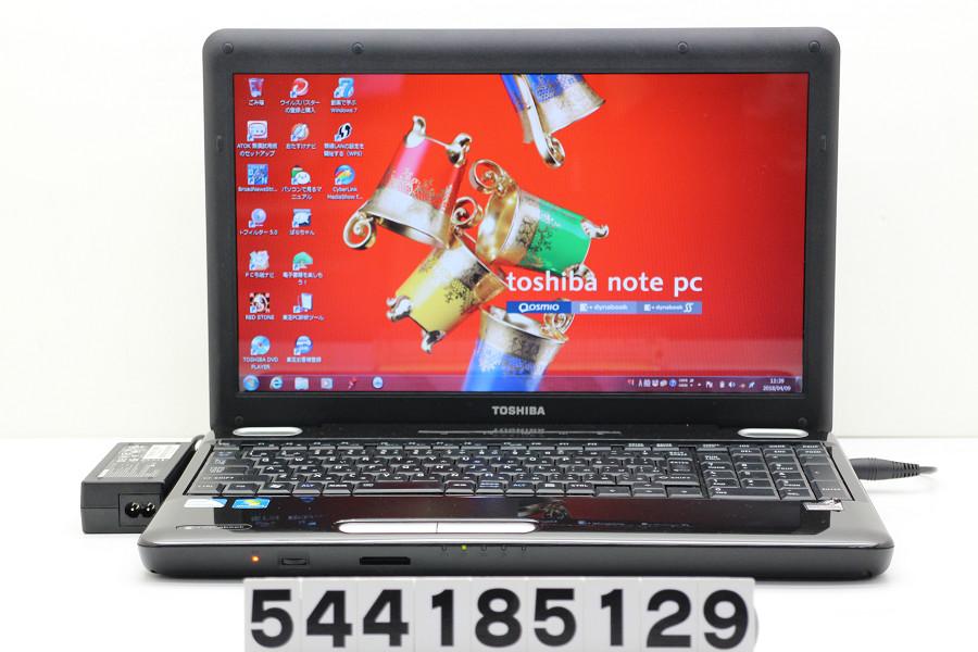 東芝 dynabook EX/35KBLKS Celeron 900 2.2GHz/2GB/320GB/Multi/15.6W/FWXGA(1366x768)/Win7【中古】【20180410】