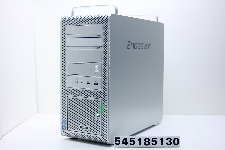 EPSON Endeavor Pro7500 Core i7 3930K 3.2GHz/8GB/500GB/Blu-ray/Win10/GeForce GTX 960 HDDベイ鍵欠品【中古】【20180508】