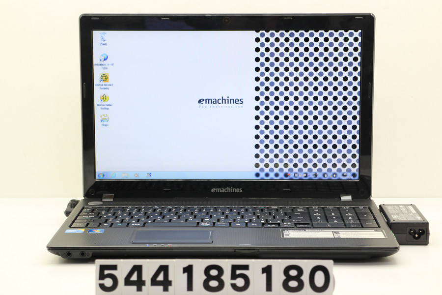 emachines E732-F32C Core i3 380M 2.53GHz/2GB/320GB/Multi/15.6W/FWXGA(1366x768)/Win7 スピーカー不良【中古】【20180509】
