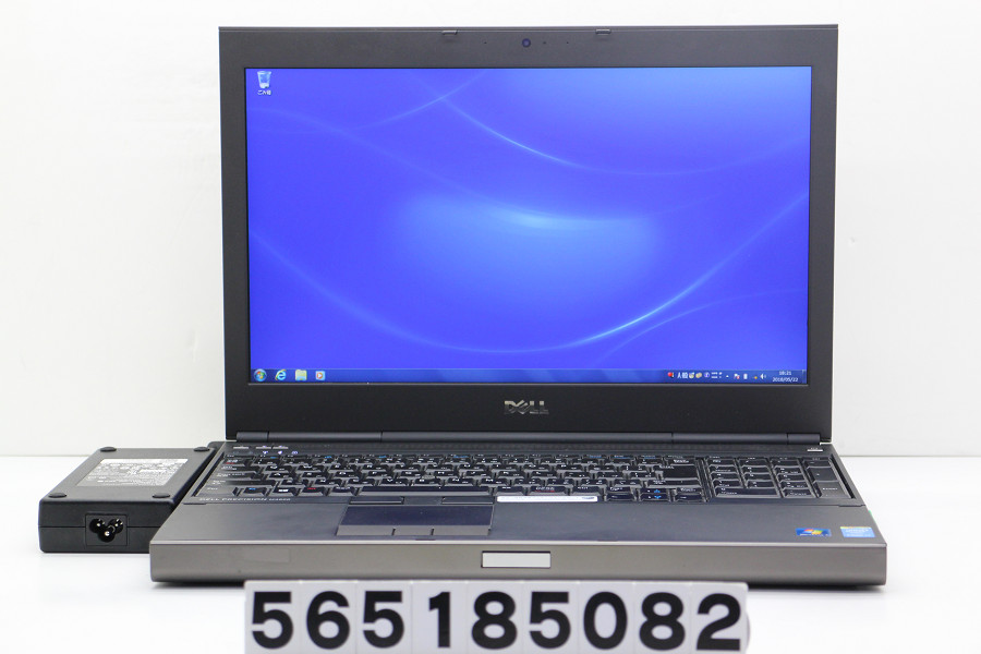 DELL Precision M4800 Core i7 4710MQ 2.5GHz/16GB/256GB(SSD)/Multi/15.6W/FHD(1920x1080)/Win7/Quadro K2100M【中古】【20180523】