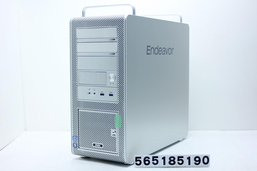 EPSON Endeavor Pro7500 Core i7 3930K 3.2GHz/8GB/500GB/Blu-ray/Win10/GeForce GTX 960 HDDベイ鍵欠品【中古】【20180523】