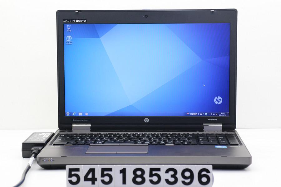 hp ProBook 6570b Core i5 3210M 2.5GHz/4GB/320GB/DVD/15.6W/WXGA++(1600x900)/RS232C/Win7【中古】【20180613】
