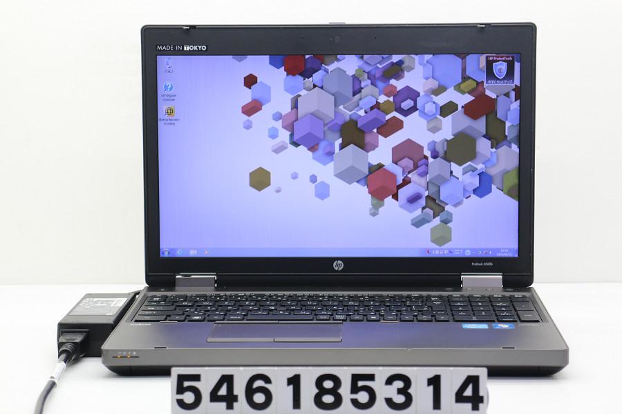 hp ProBook 6560b Core i5 2540M 2.6GHz/4GB/250GB/DVD/15.6W/WXGA++(1600x900)/RS232C/Win7/Radeon HD 6470M【中古】【20180614】
