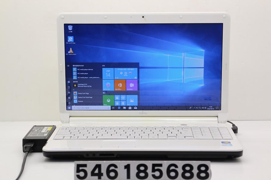 富士通 LIFEBOOK AH42/C Pentium P6200 2.13GHz/4GB/320GB/Multi/15.6W/FWXGA(1366x768)/Win10【中古】【20180615】