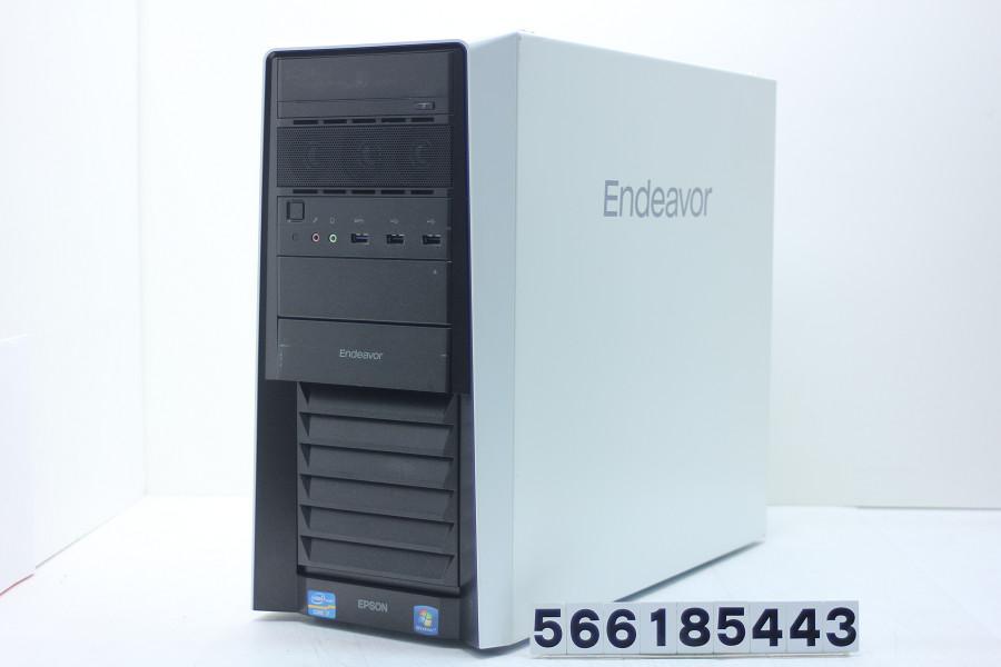 EPSON Endeavor Pro 5000 Core i7 2600 3.4GHz/16GB/250GB(SSD)+2TB/Blu-ray/RS232C/Win7/GeForce GTX 1050Ti【中古】【20180710】