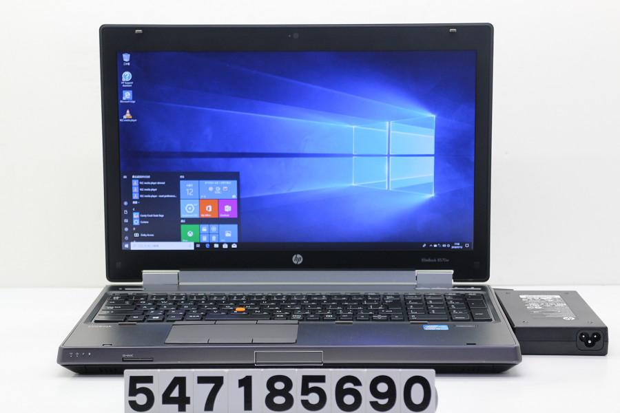 hp EliteBook 8570w Core i7 3740QM 2.7GHz/24GB/128GB(SSD)+500GB/Multi/15.6W/FHD(1920x1080)/Win10/Quadro K2000M【中古】【20180717】