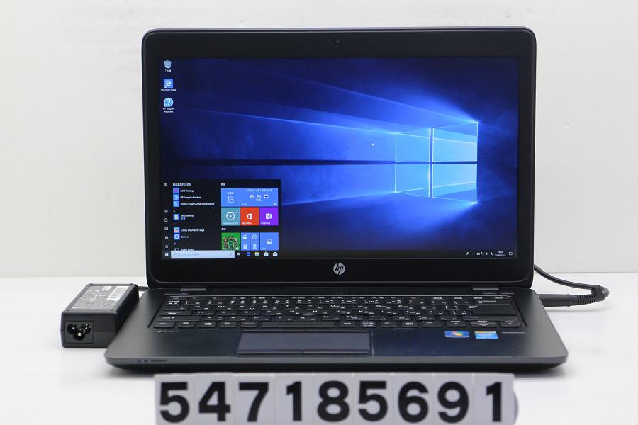 hp ZBook 14 Core i7 4600U 2.1GHz/8GB/500GB/14W/FHD(1920x1080)/Win10/FirePro M4100【中古】【20180717】