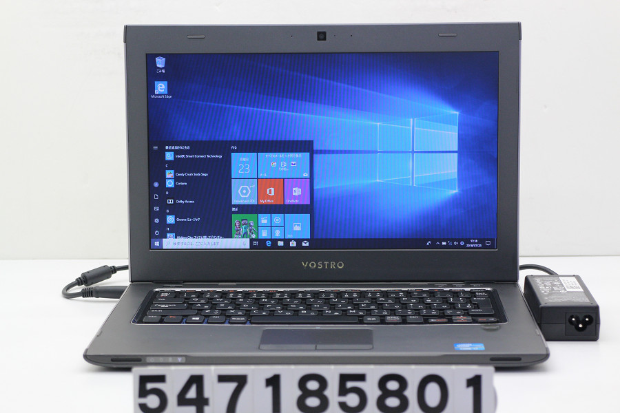 DELL Vostro 3360 Core i7 3537U 2GHz/8GB/128GB(SSD)/13.3W/FWXGA(1366x768)/Win10【中古】【20180724】