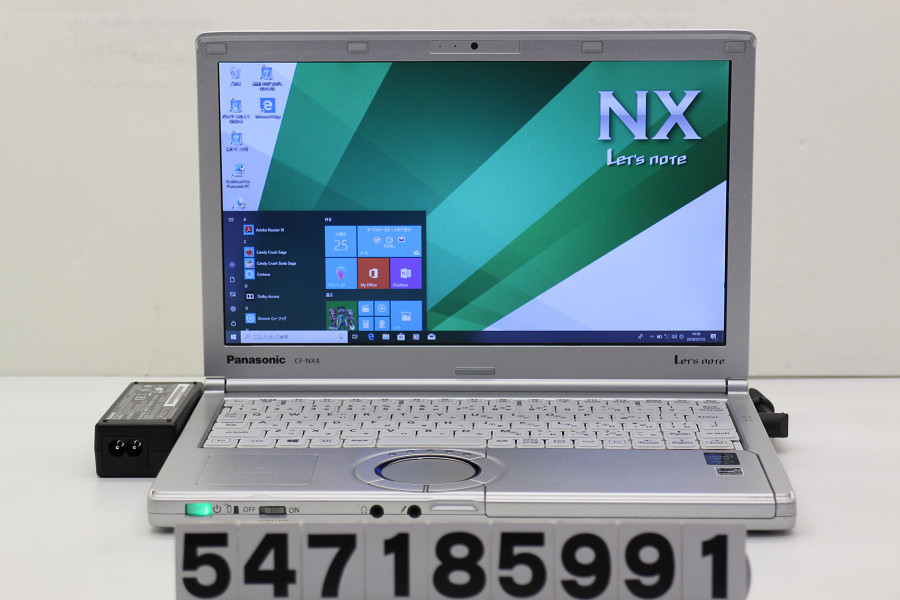 Panasonic CF-NX4ED1CS Core i5 5300U 2.3GHz/4GB/256GB(SSD)/12.1W/WXGA++(1600x900)/Win10【中古】【20180731】