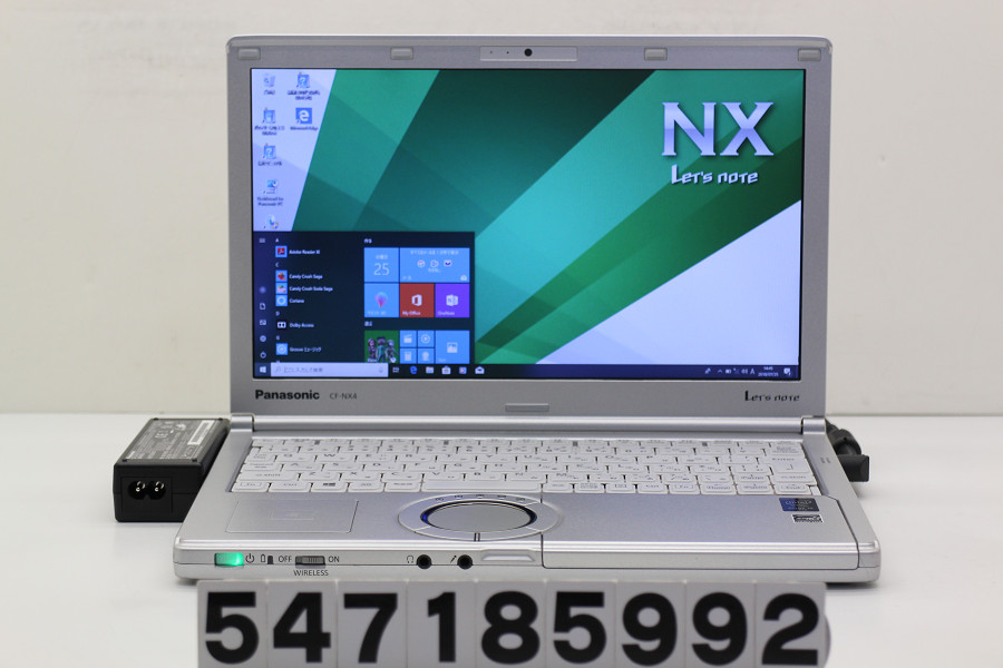 Panasonic CF-NX4ED1CS Core i5 5300U 2.3GHz/4GB/256GB(SSD)/12.1W/WXGA++(1600x900)/Win10【中古】【20180731】
