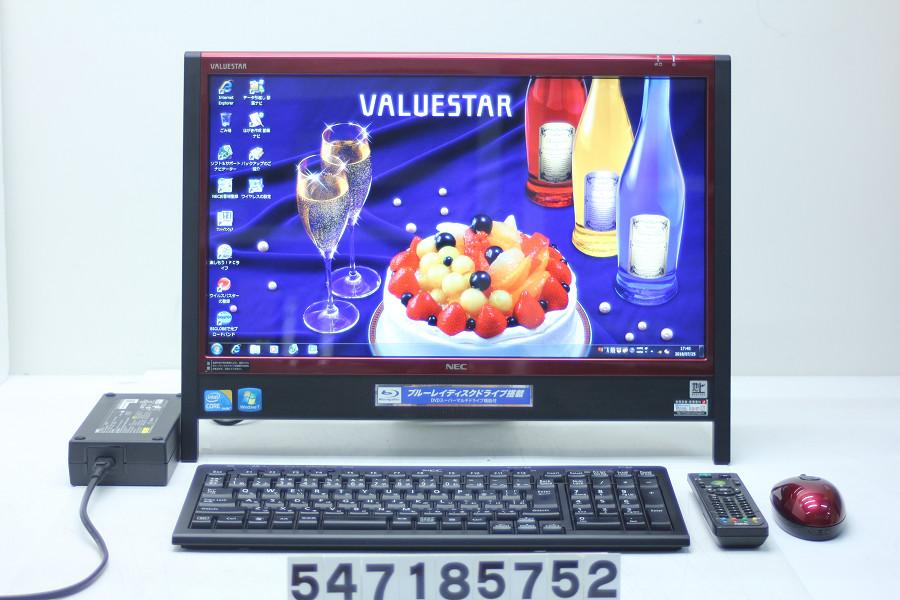 NEC PC-VN770WG3ER Core i5 430M 2.26GHz/4GB/1TB/Blu-rayMulti/20W/WXGA++(1600x900)/Win7【中古】【20180731】