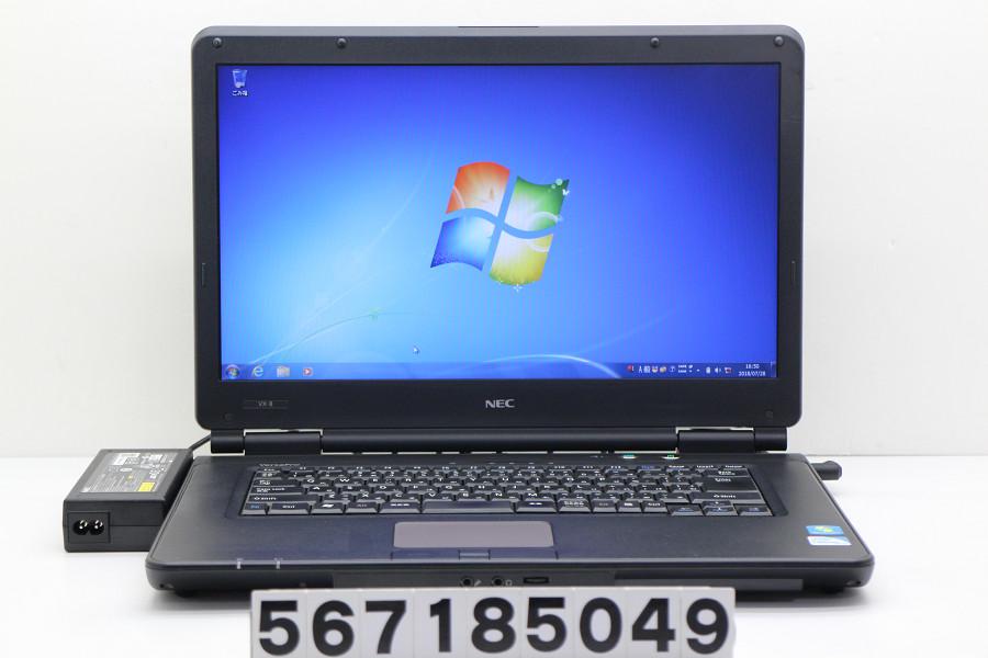 NEC PC-VK20EXZCB Celeron P4600 2GHz/2GB/160GB/DVD/15.6W/FWXGA(1366x768)/Win7【中古】【20180731】