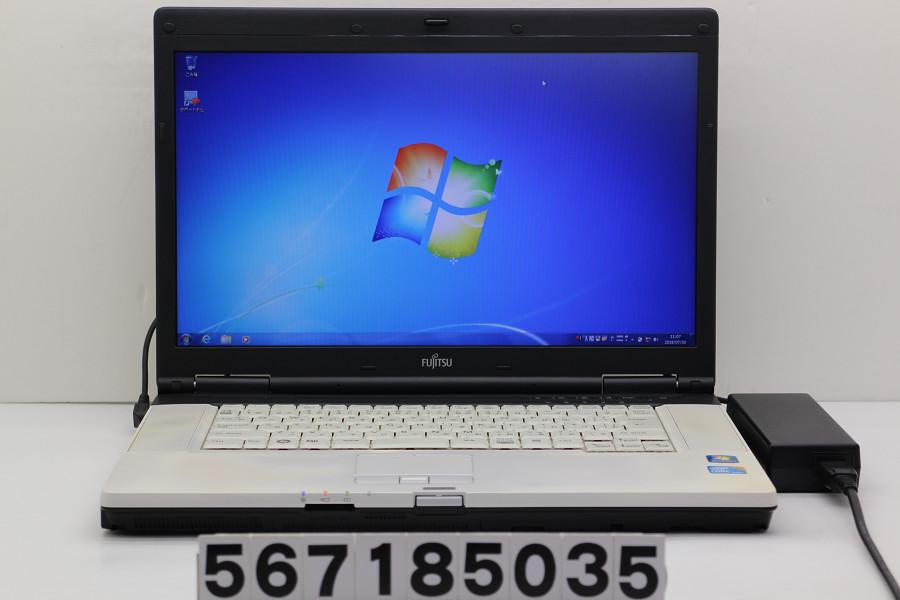 富士通 LIFEBOOK E780/A Core i7 M620 2.67GHz/4GB/128GB(SSD)/Multi/15.6W/WXGA++(1600x900)/RS232C/Win7【中古】【20180731】