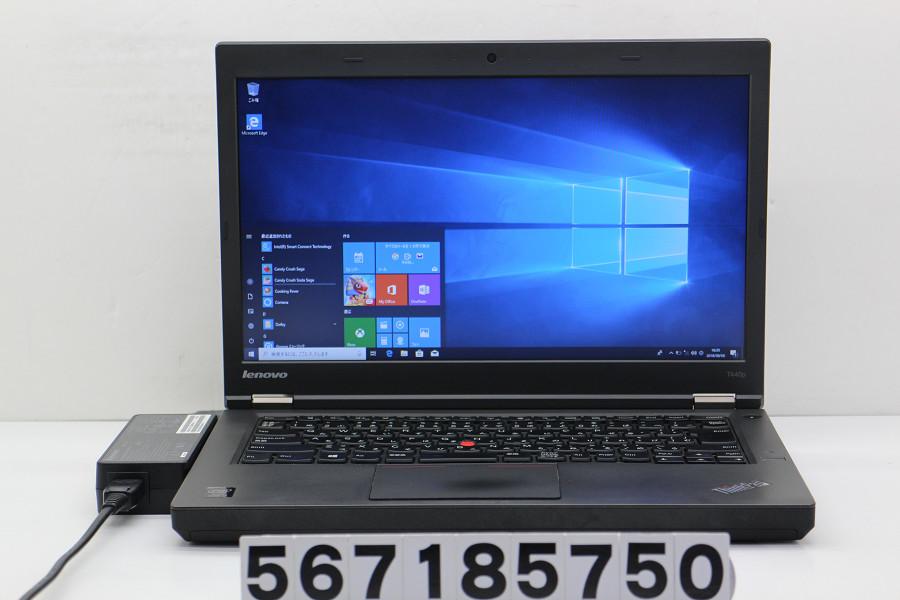 lenovo ThinkPad T440p Core i7 4600M 2.9GHz/4GB/500GB/Multi/14W/WXGA++(1600x900)/Win10【中古】【20180808】