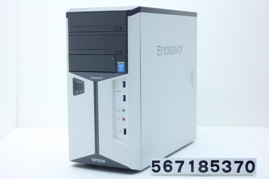 EPSON Endeavor MR7200E-L Core i5 4440 3.1GHz/8GB/500GB/Multi/Win10/GeForce GTX 1050Ti【中古】【20180821】