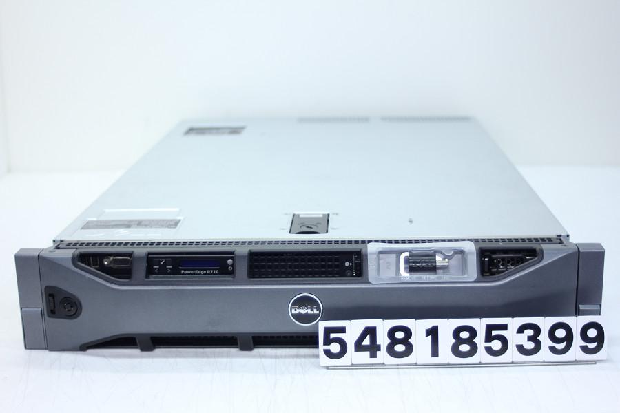 DELL PowerEdge R710 Xeon X5667 3.06GHz(2基搭載)/4GB/146GB×2(SAS)/DVD/RS232C/OS無し【中古】【20180821】