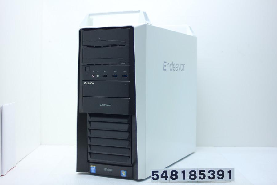 EPSON Endeavor Pro8000-H Core i7 4930K 3.4GHz/16GB/256GB(SSD)+2TB/Blu-ray/Win10/GeForce GTX 1060 6GB【中古】【20180828】