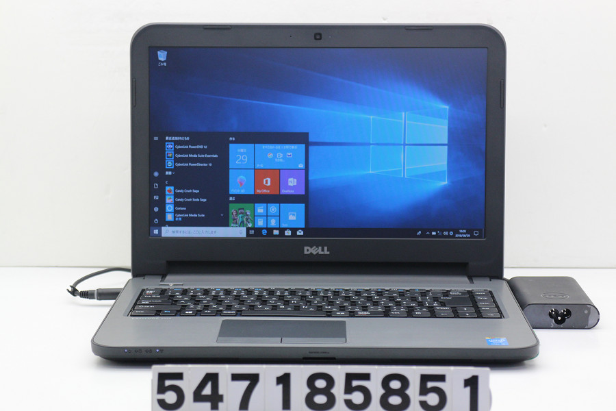 DELL Latitude 3440 Core i3 4010U 1.7GHz/4GB/500GB/Multi/14W/FWXGA(1366x768)/Win10【中古】【20180911】