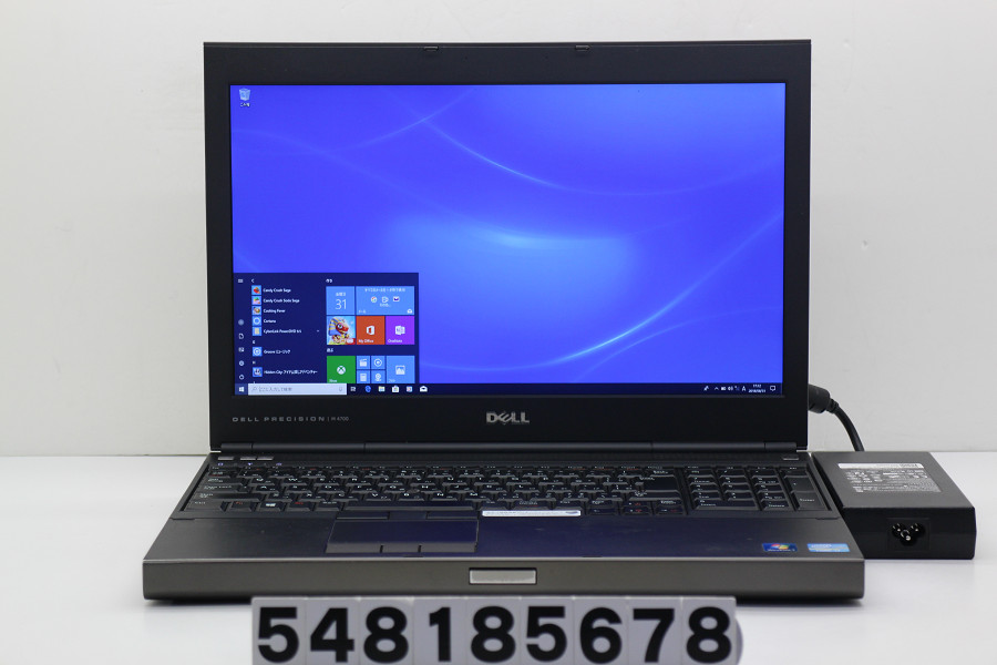 DELL Precision M4700 Core i7 3840QM 2.8GHz/16GB/500GB/Multi/15.6W/FHD(1920x1080)/Win10/Quadro K2000M【中古】【20180911】