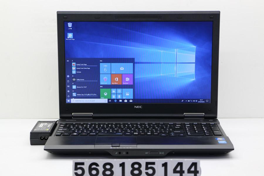 NEC PC-VK25LXZCK Core i3 4100M 2.5GHz/4GB/500GB/DVD/15.6W/FWXGA(1366x768)/RS232C/Win10【中古】【20180911】