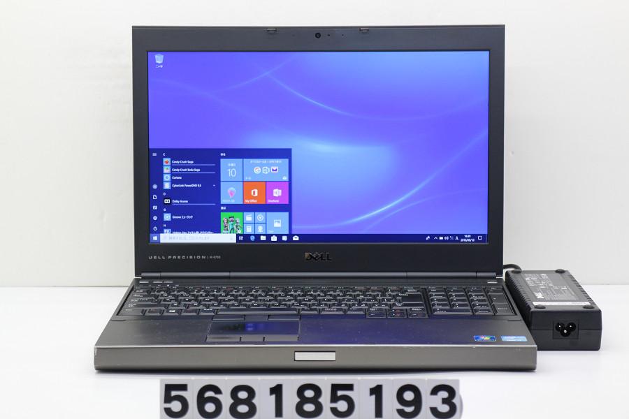 DELL Precision M4700 Core i7 3840QM 2.8GHz/16GB/128GB(SSD)/15.6W/FHD(1920x1080)/Win10/Quadro K2000M【中古】【20180911】