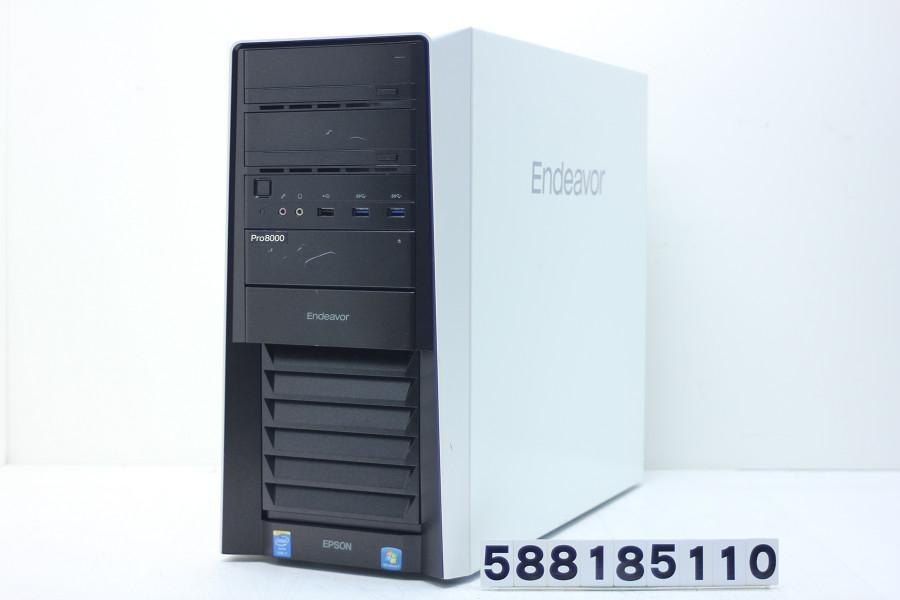 EPSON Endeavor Pro8000-M Core i7 4820K 3.7GHz/16GB/256GB(SSD)+2TB/Blu-ray/Win10/GeForce GTX 980Ti【中古】【20180911】
