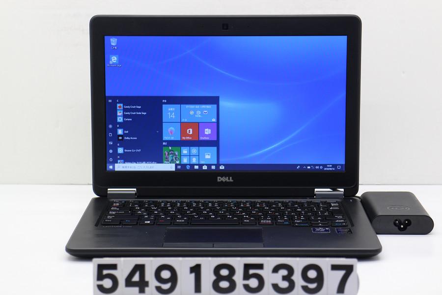 DELL Latitude E7250 Core i7 5600U 2.6GHz/16GB/512GB(SSD)/12.5W/FWXGA(1366x768)/Win10【中古】【20180918】