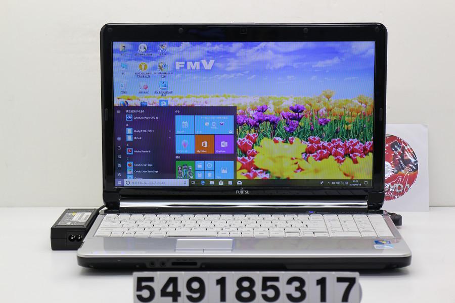 富士通 LIFEBOOK AH42/C Pentium P6200 2.13GHz/4GB/640GB/Multi/15.6W/FWXGA(1366x768)/Win10【中古】【20180919】