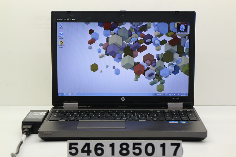 hp ProBook 6560b Core i5 2540M 2.6GHz/4GB/320GB/DVD/15.6W/WXGA++(1600x900)/RS232C/Win7/Radeon HD 6470M【中古】【20180919】