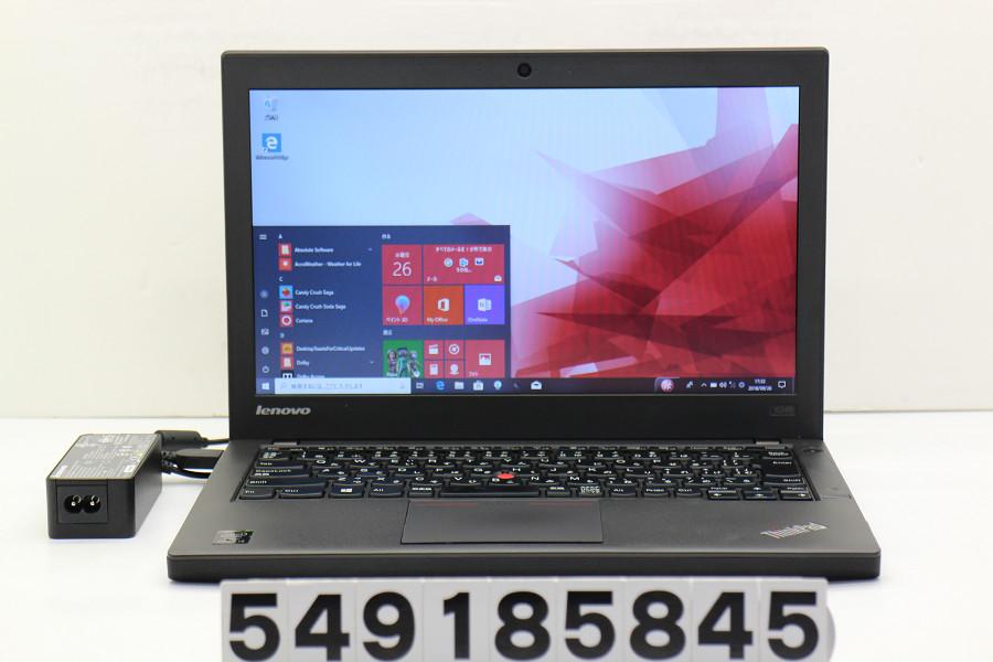 lenovo ThinkPad X240 Core i3 4030U 1.9GHz/4GB/500GB/12.5W/FWXGA(1366x768)/Win10【中古】【20181002】