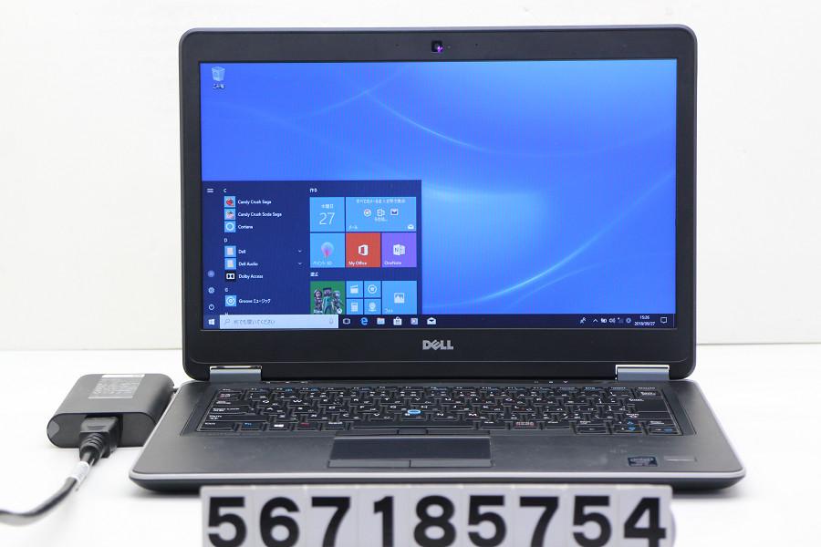 DELL Latitude E7440 Core i5 4300U 1.9GHz/4GB/500GB/14W/FWXGA(1366x768)/Win10【中古】【20181002】