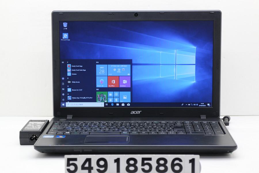 acer TMP453-M Core i3 3110M 2.4GHz/4GB/500GB/Multi/15.6W/FWXGA(1366x768)/Win10【中古】【20181002】