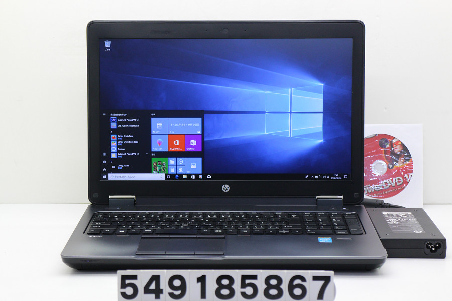 hp ZBook 15 G2 Core i7 4810MQ 2.8GHz/32GB/256GB(SSD)/Multi/15.6W/FHD(1920x1080)/Win10/Quadro K2100M【中古】【20181002】