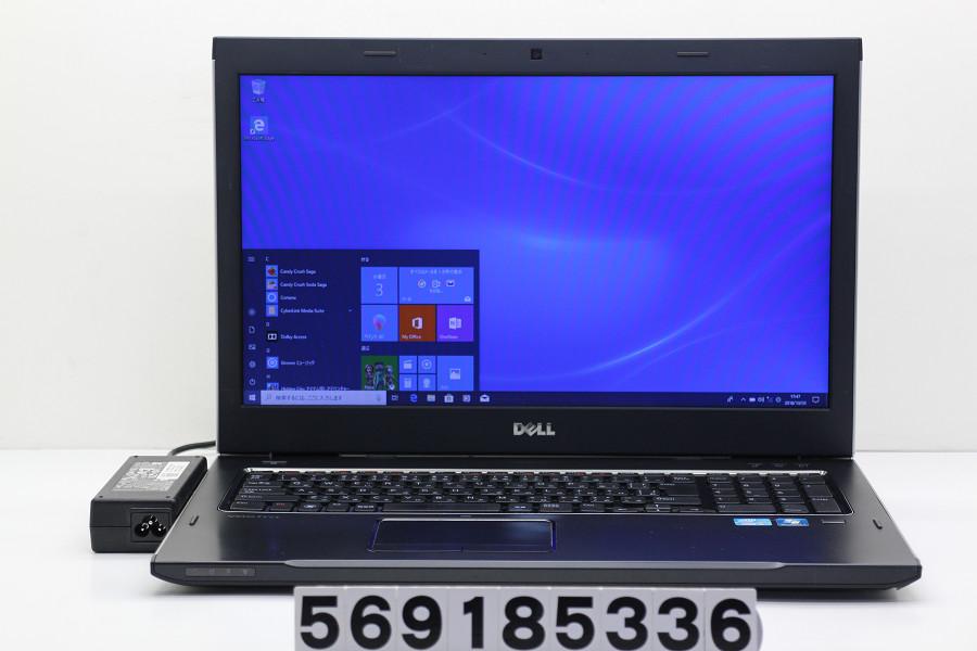 DELL Vostro 3750 Core i5 2450M 2.5GHz/4GB/320GB/Multi/17.3W/WXGA++(1600x900)/Win10 SDスロット破損【中古】【20181004】