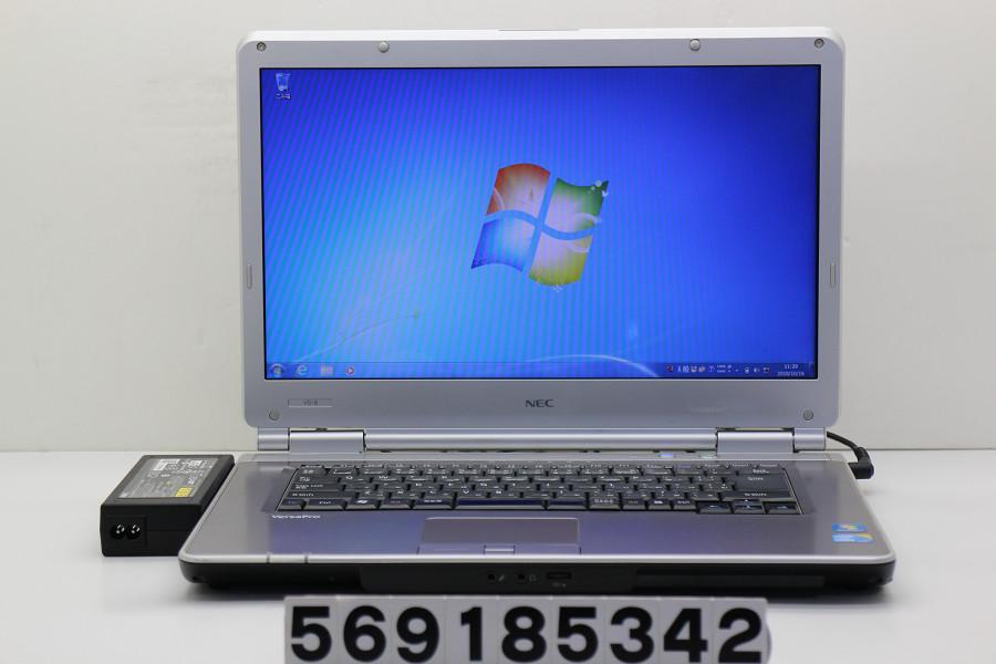 NEC PC-VK26MDZCB Core i5 M560 2.67GHz/4GB/160GB/DVD/15.6W/FWXGA(1366x768)/RS232C/Win7【中古】【20181017】
