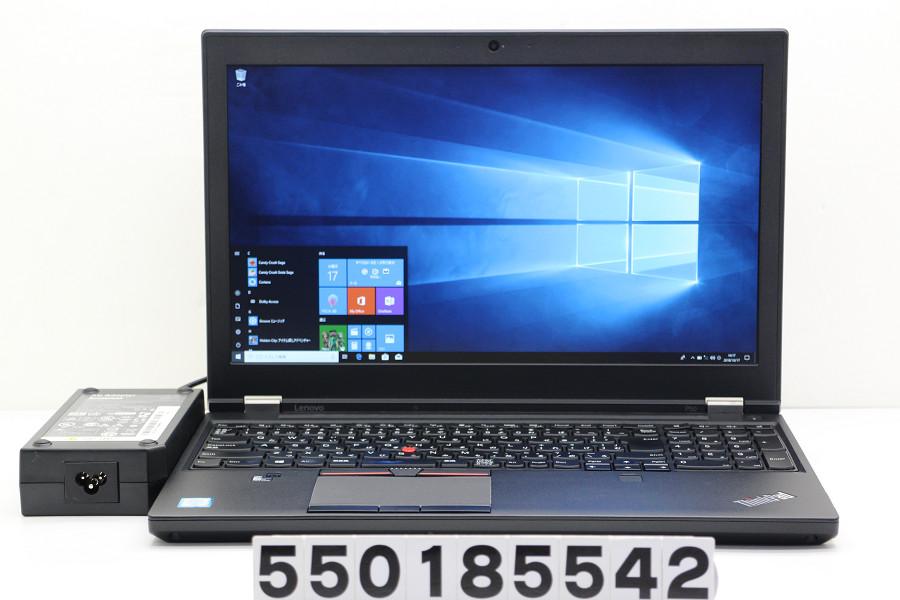 lenovo ThinkPad P50 Core i7 6820HQ 2.7GHz/8GB/120GB(SSD)/15.6W/FHD(1920x1080)/Win10/Quadro M1000M【中古】【20181018】