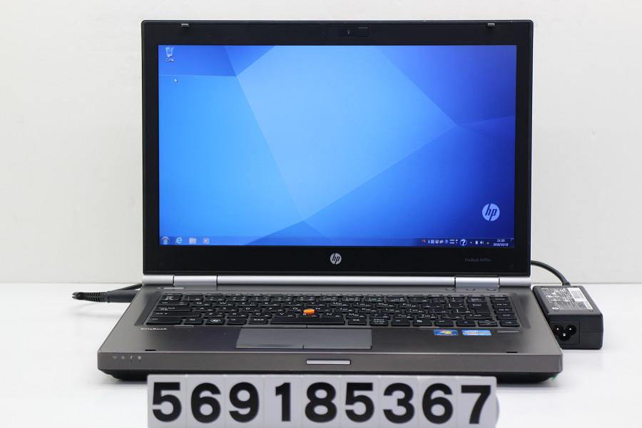hp EliteBook 8470w Core i7 3610QM 2.3GHz/4GB/120GB(SSD)/Multi/14W/WXGA++(1600x900)/Win7/FirePro M2000【中古】【20181019】