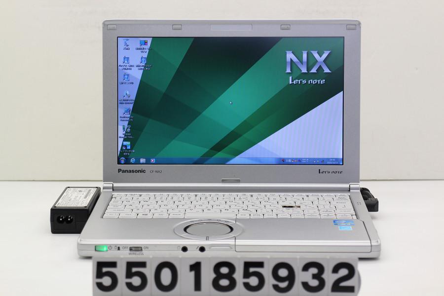 Panasonic CF-NX2RWJCS Core i3 3120M 2.5GHz/4GB/250GB/11.6W/FWXGA(1366x768)/Win7 キーボード難、ACエラーあり【中古】【20181024】