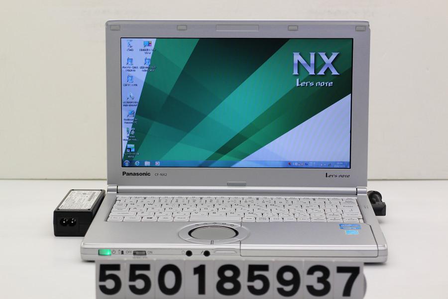 Panasonic CF-NX2RWJCS Core i3 3120M 2.5GHz/4GB/250GB/11.6W/FWXGA(1366x768)/Win7 ACエラーあり【中古】【20181024】