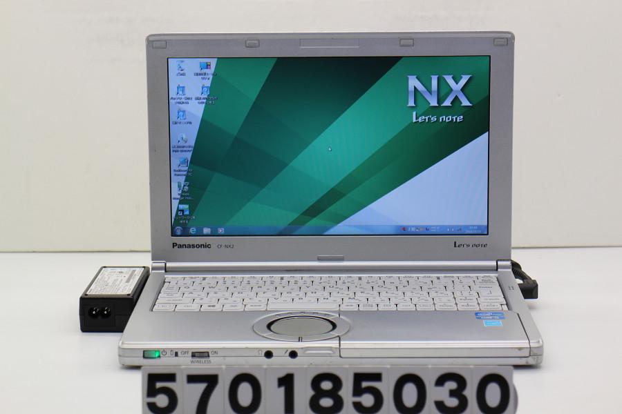 Panasonic CF-NX2RWJCS Core i3 3120M 2.5GHz/4GB/250GB/11.6W/FWXGA(1366x768)/Win7【中古】【20181026】