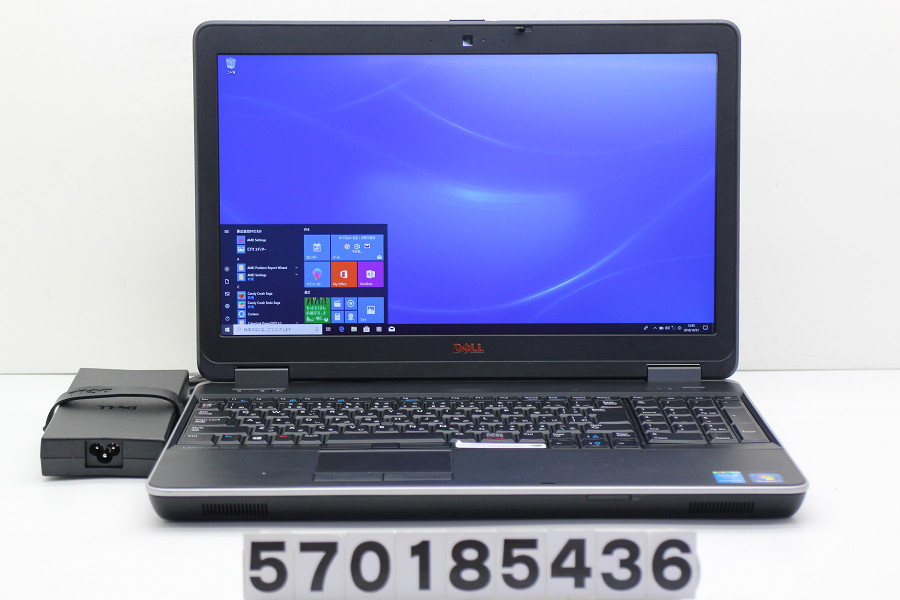 DELL Latitude E6540 Core i5 4310M 2.7GHz/8GB/256GB(SSD)/Multi/15.6W/FHD(1920x1080)/Win10/Radeon HD 8790M【中古】【20181101】